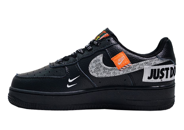 "Nike Air Force ""Just do it"" Negras"
